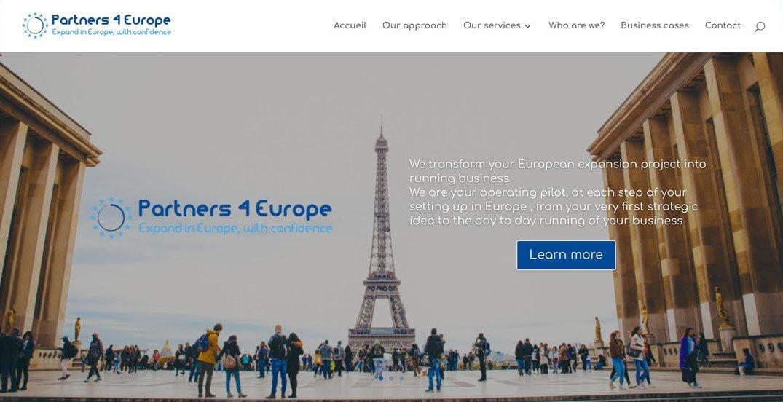 Webatheart.com design Advisense-consulting ex1